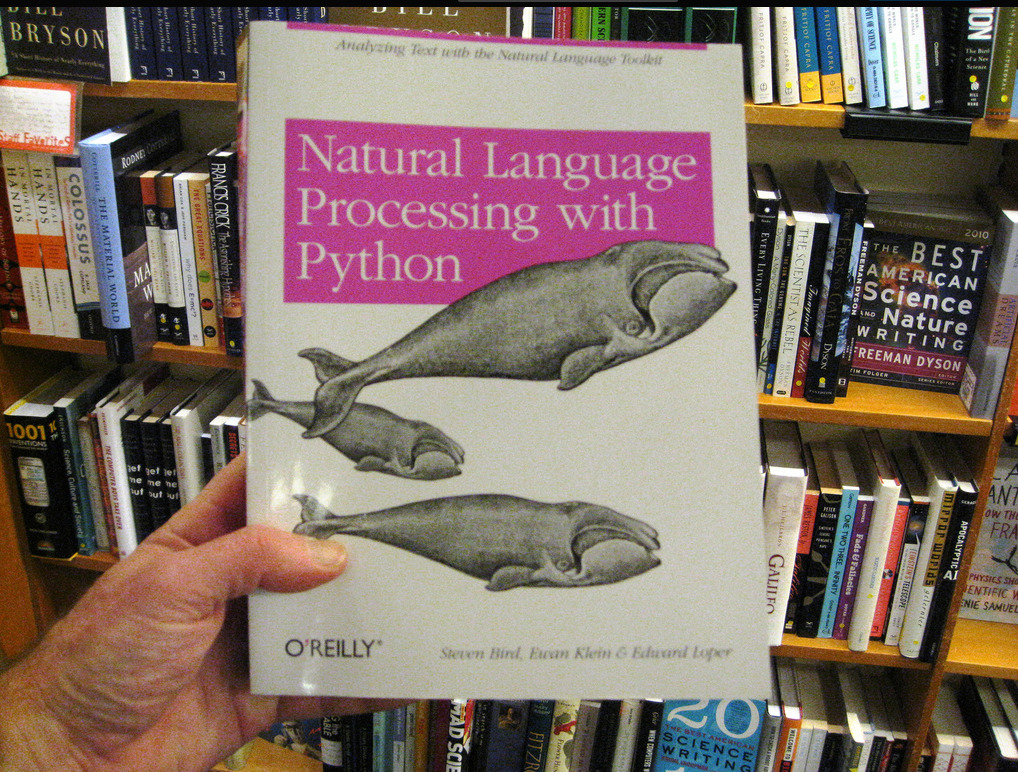 Portada del libro «Natural Language Processing with Python» (foto de https://flic.kr/p/aKBHak CC).