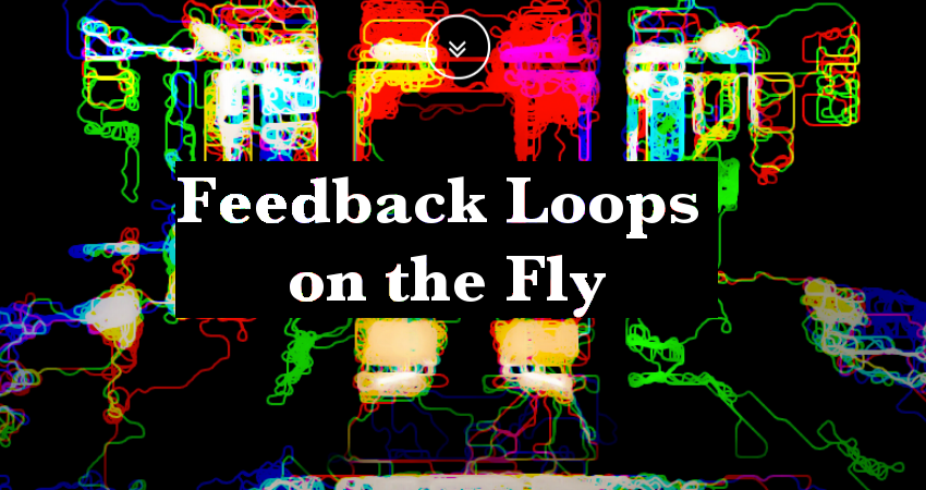 Feedback Loops on the Fly: creating improvised sound system merging live patching and hardware hacking techniques in a live performance