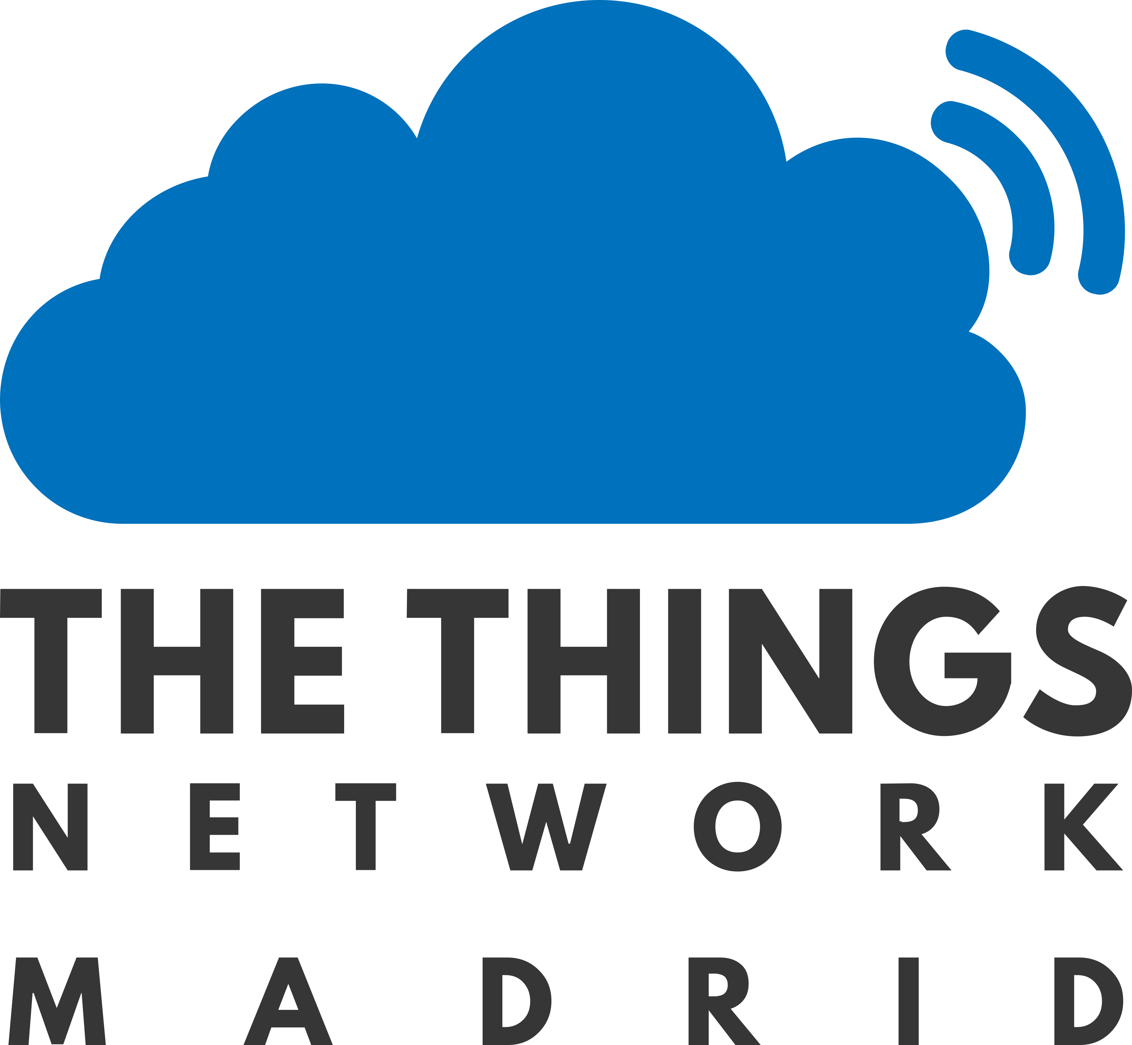 Logo de The Things Network Madrid