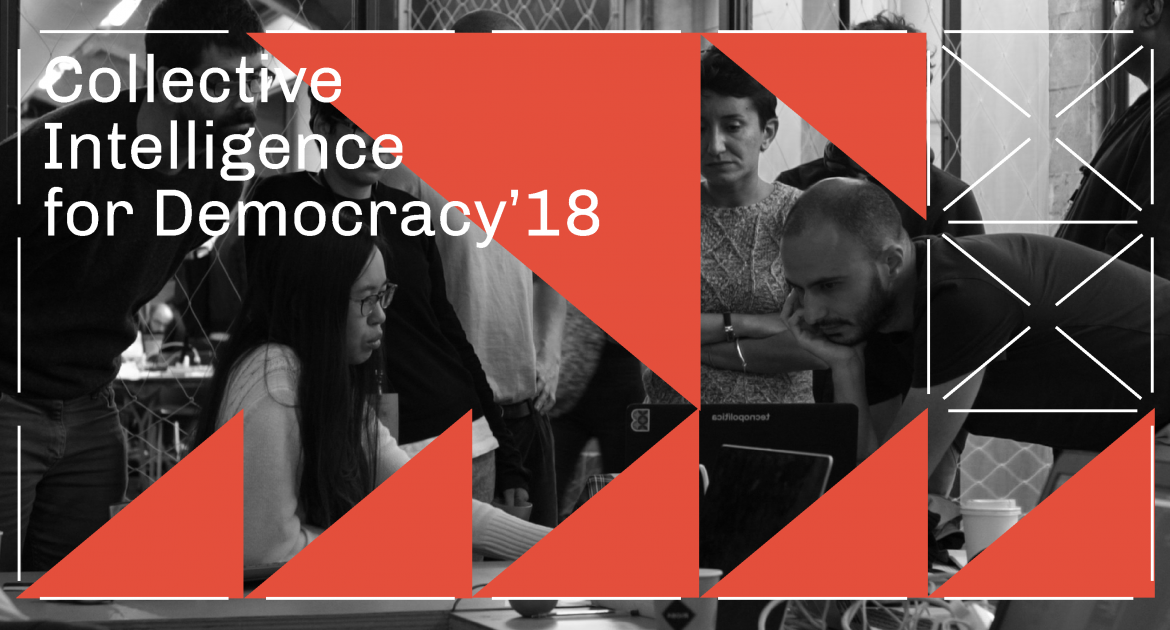Collective Inteligence for Democracy will be held from 5 th and 16 th of november