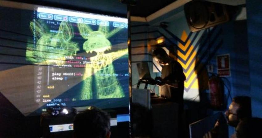 algorave en la imperdible 1