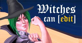 Witches can edit